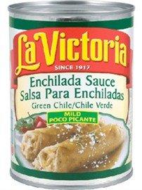 La Victoria Green Chile Enchilada Sauce - Sauce Mexican Enchilada