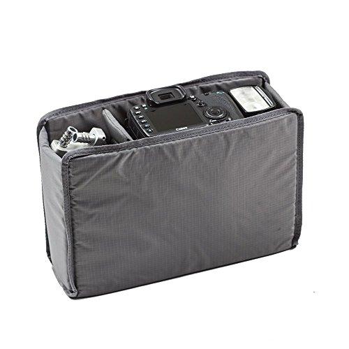 Tenba Black Messenger Bag (Tenba Messenger Removable Photo Insert - Gray (638-251))