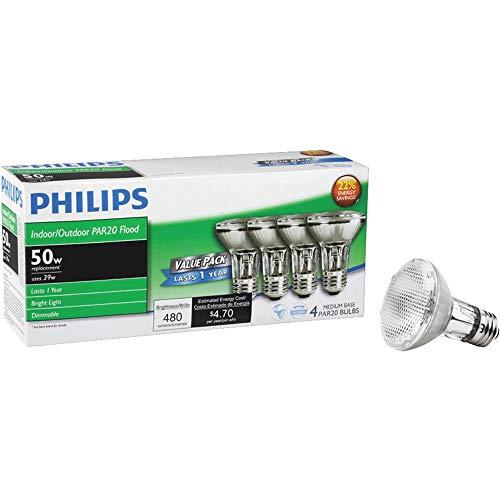 Philips 50 Watt Halogen Flood Light Bulb in US - 6