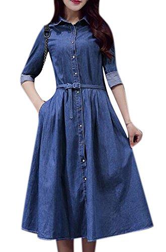 jeans dress fashion - 7