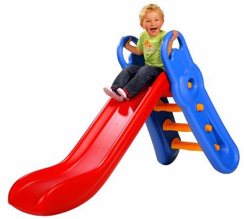 big tobogn de plstico con pasamanos de x x cm multicolor amazones juguetes y juegos