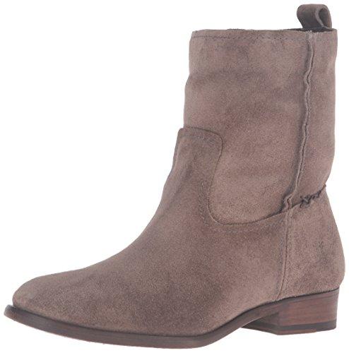 FRYE Women's Cara Short Suede Boot, Elephant, 8 M US by FRYE