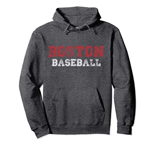 Boston Distressed Pro Baseball Team Championship Hoodie
