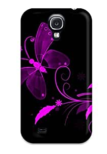 New Abstract Flowers S Tpu Case Cover, Anti-scratch MbbOgba1458evjJk Phone Case For Galaxy S4