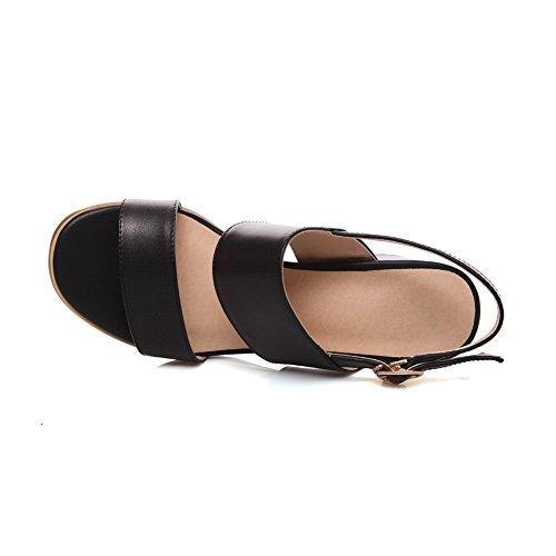 Kitten Black Adee Womens Rhinestones Sandals Heels Polyurethane 88EUqYw