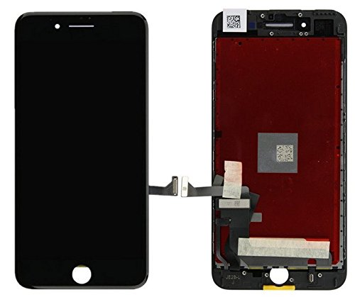 Replacement LCD Screen and Digitizer for Apple iPhone 7 (Pre-Assembled) - Black by Replacement Parts