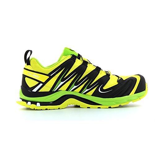 Salomon XA PRO 3D GTX Zapatillas de Hombre para exteriores, hombre, Gelb (Corona Yellow/Granny Green/White), 12.5
