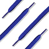144 (12 Dozen) of 54'' (137 cm) Royal Blue Shoelaces (Flat)