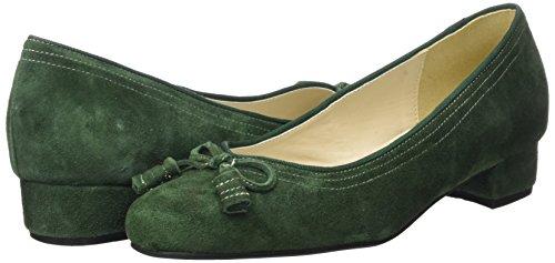 Hirschkogel 3001514 tanne Vert Fermé Escarpins Bout 147 Femme rrdCwnOHxq