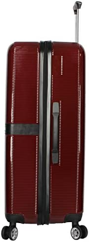 Nicole Miller New York Ria Collection Hardside 28 Luggage Spinner 28 in, Ria Burgundy