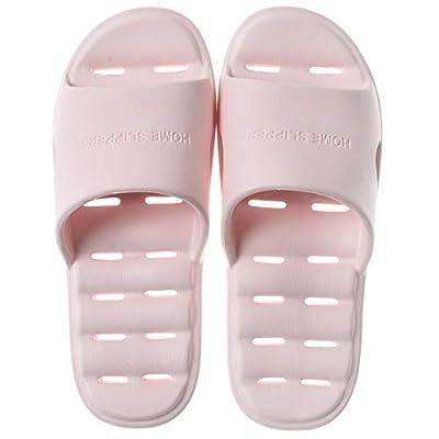 Xunlong Shower Slippers Bathroom Non-Slip Sandal Quick Drying House Bath Slipper for Women and Men