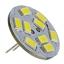 FAGL G4 4W 400-430LM 6000-6500K Natural White Light Vertical Pin LED Spot Bulb (12V)