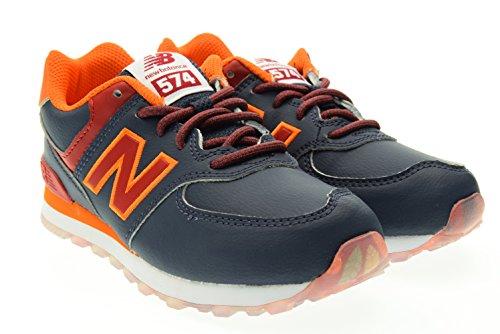 New Balance 574 navy/red Blu-Rosso