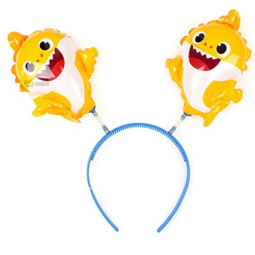 Pinkfong Baby Shark Balloon Hair Band Birthday Picnic Party Supplies