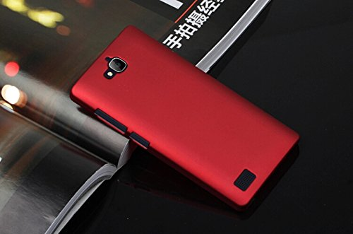 Dimike PC Ultra Slim Hard Back Case Protector Cover for Huawei Honor 3C(Wine Red)