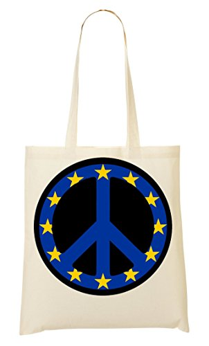 Fourre Graphic Peace Sac provisions Europe Styled tout à Flag Sac WFXtTqgR