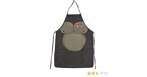 Paladone Mono-Ron Delantal de Cocina: Amazon.es: Hogar