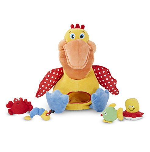 Melissa & Doug K's Kids Hungry Pelican Soft Baby Educational Toy from Melissa & Doug