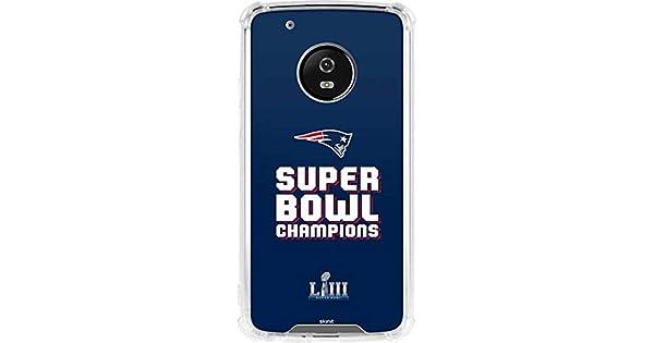 Amazon.com: Skinit New England Patriots Moto G5 Plus Clear ...