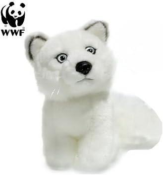 1 WWF Polarfuchs o Silberfuchs Plüschtier Kuscheltier Stofftiere Plüschtiere NW
