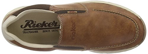peanut Rieker Homme Bleu cigar Loafers men Mocassins 15260 amp; chalk Mocassins YPwUxPaq8