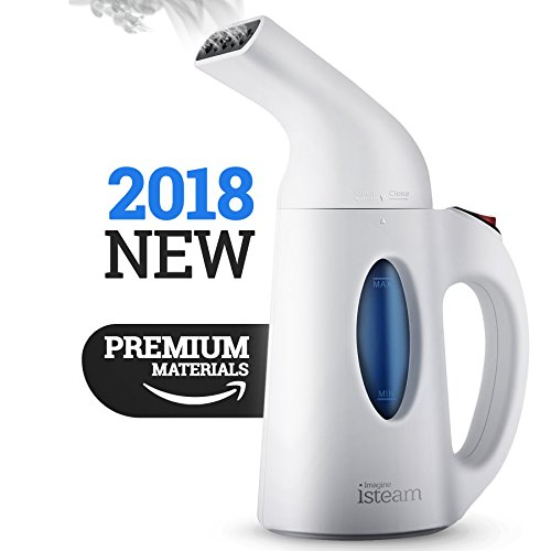 iSteam Steamer For Clothes, Handheld Clothes Steamers.4-in-1 Powerful Steamer Wrinkle Remover. image