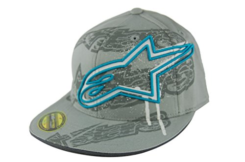 Alpinestars Story 210 Flexfit Hat , Gender: Mens/Unisex, Distinct Name: Story 210 Charcoal, Primary Color: Gray, Size: Lg-XL 10128102818BLXL