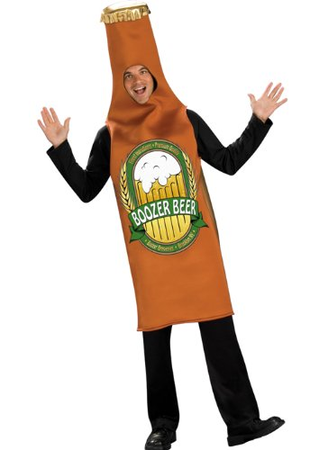 Rubie's Men's Beer Bottle Costume, As Shown, Standard ()