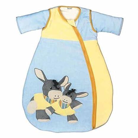 Sterntaler 945 000085 - Saco de dormir Emmi el burro azul Talla:70 cm: Amazon.es: Bebé
