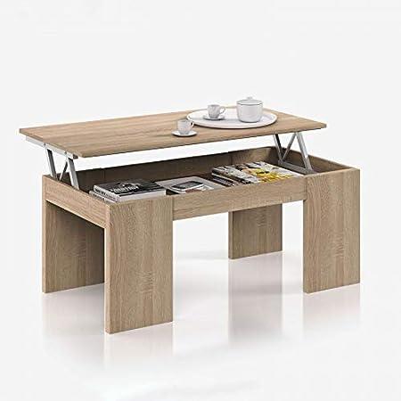 Ventemeublesonline Table Basse Relevable Voss Amazon Fr Cuisine