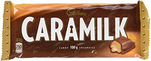 Caramilk Chocolate Bar - Cadbury Caramilk Chocolate, Large 100g 3.52 ounce Bar - Imported from Canada