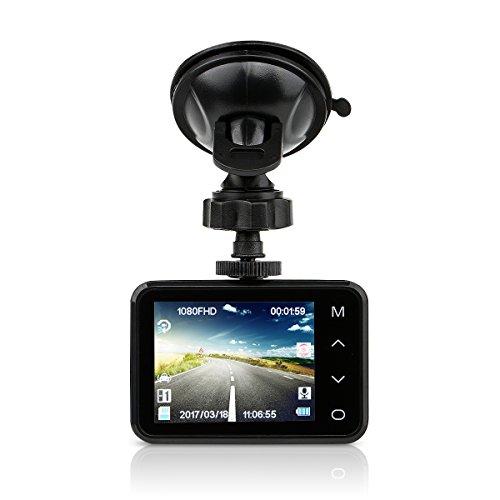 "Te-Rich 2.7"" Full HD 1080P Car Dash Cam Wide Angle DVR Ca..."