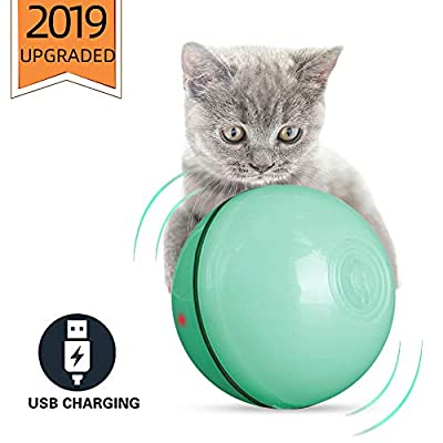 Toys for cats ELEBOOT 2020 Upgrade Vision Smart Interactive Cat Toys Ball,Automatic... [tag]