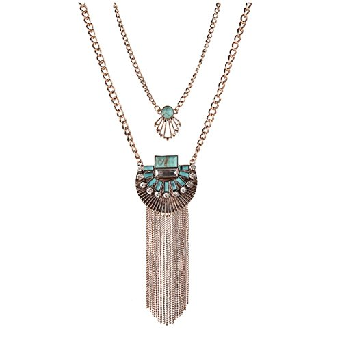 NL1200081C1 Fashion Alloy Exotic Plating Women's Necklace - Pocahontas Costume Homemade