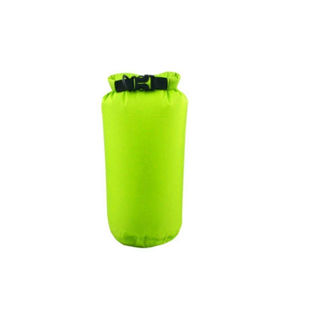Green 15L Dive Bag Liner Drying Bag for Motorcycle, Kayaking, Rafting, Skiing, Travel, Hiking, Camping, 8L, 15L.