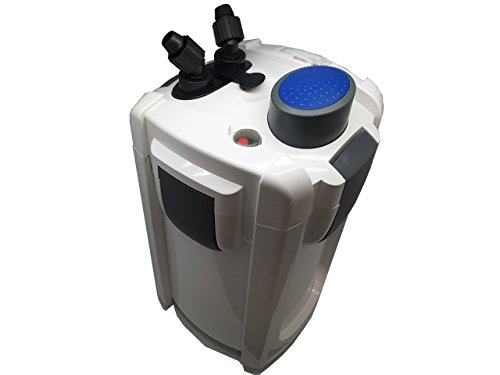 Sunsun HW-704B 525 GPH 5-Stage External Canister Filter with 9W UV - Cannister Filter With Uv Light