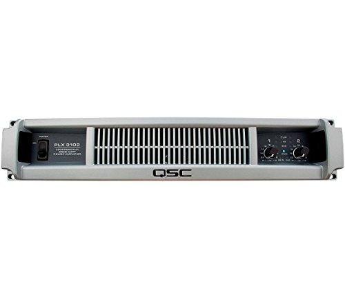 (QSC PLX3102 1000 Watt 2 Channel Lightweight Power Amplifier )