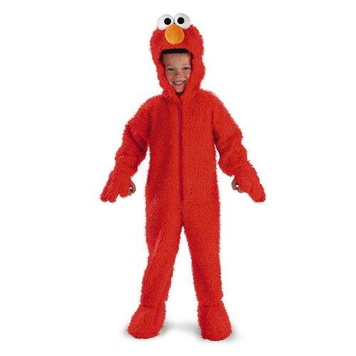 Elmo Deluxe Plush - Size: 3T-4T