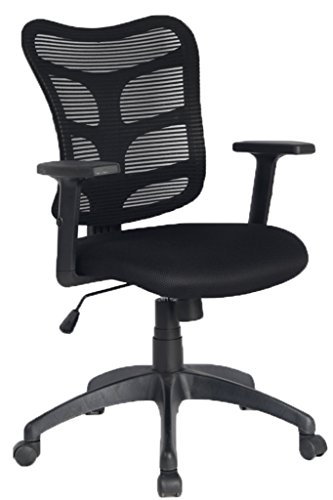 VIVA OFFICE Mid Back Mesh Computer Task Chair with Adjustable Armrests by VIVA OFFICE