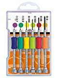 Precision Screwdriver Set | TD-56S Vessel JIS Made in Japan | 6 Piece Kit