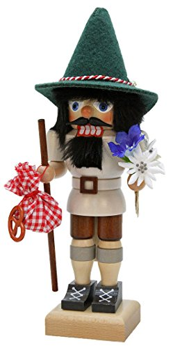 German Christmas Nutcracker Bavarian Hiker - 28,5cm / 11 inch - Christian Ulbricht ()