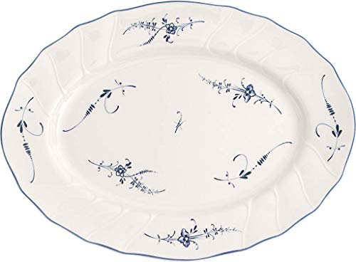 Villeroy & Boch 1023412920 Vieux Luxembourg Oval Platter, Floral
