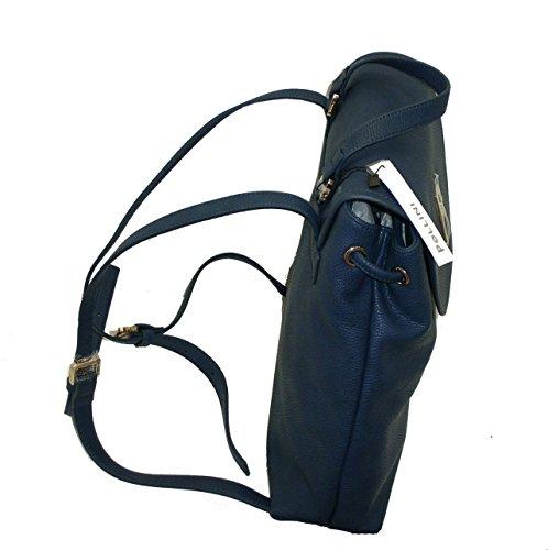 Pollini , Sac à main porté au dos pour femme bleu bleu grande