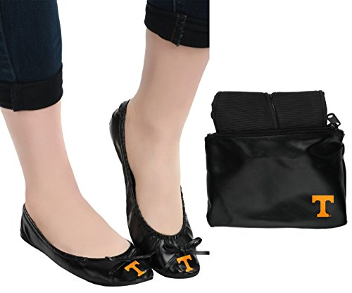 Tennessee Exclusive Team Logo Flats with Clutch Medium by FOCO