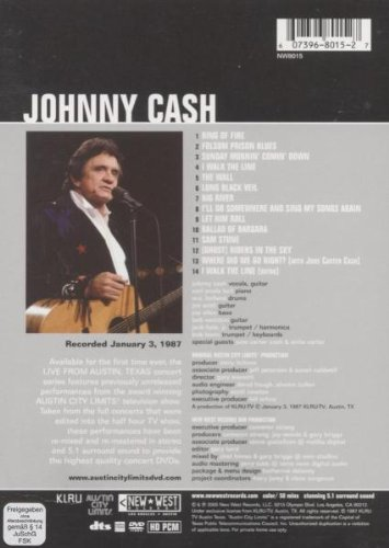 Johnny Cash - Live From Austin TX by New West Records