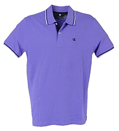 Champion Polo Manga Corta para Hombre Light Cotton Pique Gr.175 ...
