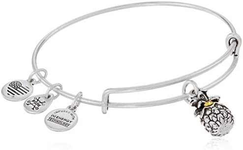 Alex and ANI Pineapple III Bangle Bracelet, Expandable