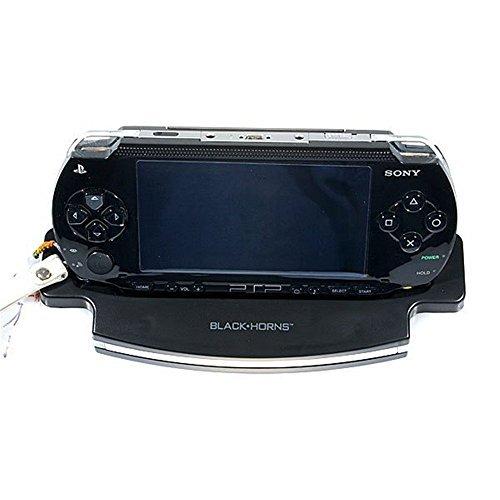 Shanhai Blackhorns Premium Blue Light Charging Cradle Movie Stand for PSP by (Psp Movie Stand)