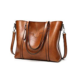 Leather Women Handbags New Female Korean Fashion Handbag Crossbody Shaped Sweet Shoulder Handbag Brown