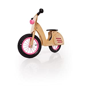 Prince Lionheart Whirl Balance Scooter, Natural/Pink
